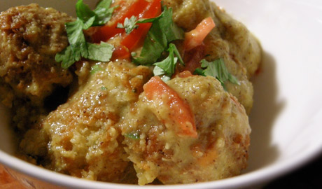 Chettinad Pakoda Curry